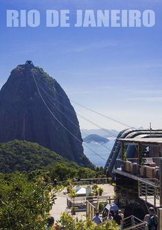Top 5 Places to Visit in Rio de Janeiro, Brazil. In the picture: the Sugar Loaf mountain