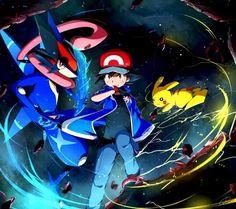 Resultado de imagen para pokemon kawaii greninja Ash