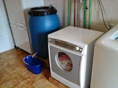 Reuso de água da máquina de lavar