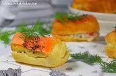 Mini-Eclairs au Saumon