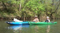 Kayak Terrapin Creek, near Piedmont Alabama