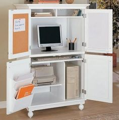 Home office cabinets are versatile and beautiful solutions for small home office designs