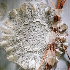 Could not find, but LOTS of crochet patterns *** crochet lace doily Crochet Doily Diagram, Crochet Motif, Knit Crochet, Crochet Home, Love Crochet, Beautiful Crochet, Tatting Patterns, Doily Patterns, Crochet Patterns