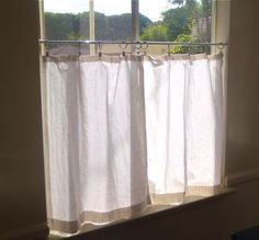 cafe curtains in living room - Google Search | Curtains ...