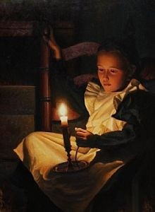 'Candlight Ponderings' by Timothy C. Tyler