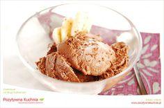 Lody bananowo-czekoladowe - #przepis na #lody z banana i czekolady  http://pozytywnakuchnia.pl/domowe-lody-bananowo-czekoladowe/  #kuchnia #deser #czekolada #banan