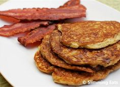 Slimming World American Style Pancakes and Bacon