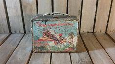 Vintage Metal Chitty Chitty Bang Bang Lunck Box/Vintage Lunch