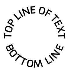 The Trick for Putting Text on a Circle in Illustrator