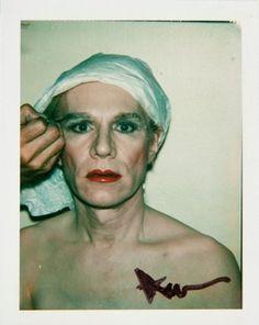 Self-Portrait in Drag by Andy Warhol, 1977