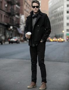 Distinctive Mens Black Jeans What To Wear Outfits For Fall And Winter