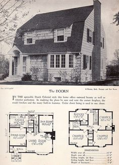 1928 Home Builders Catalog - The Doorn | by American Vintage Home
