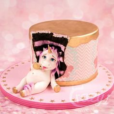 Fat Unicorn Cakes Are Here & We Never Knew How Badly We Needed Them Until Now - Tortenideen - Cupcakes Fat Unicorn, Unicorn Foods, Unicorn Cakes, Funny Unicorn, Beautiful Cakes, Amazing Cakes, Unicorn Birthday Parties, Birthday Cake, Cake Pops