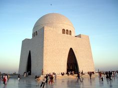 Quaid-e-Azam Muhammad Ali Jinnah's Tomb, Karachi, Pakistan