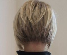 The classic Bob hairstyle is current chic and very sophisticated or try the inverted bob for something a bit different.It is easy to maintain and is a stylish hairstyle for womenregardless of age. Inverted Bob Hairstyles, Asymmetrical Hairstyles, Medium Bob Hairstyles, Short Hairstyles For Women, Haircut Medium, Bob Haircuts, Medium Hair Cuts, Short Hair Cuts, Short Hair Styles