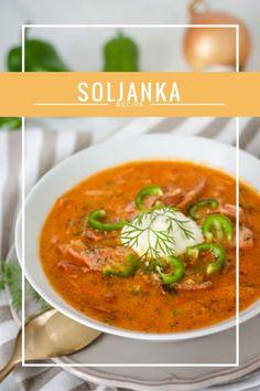 Zum Tag der Deutschen Einheit gibt es heute Soljanka. Für viele sicherlich nichts besonderes, aber für ein Bayerisches Mädel wie mich schon. Diese Suppe ist so einfach und soooo lecker! https://joyfulfood.de/2016/10/03/soljanka/