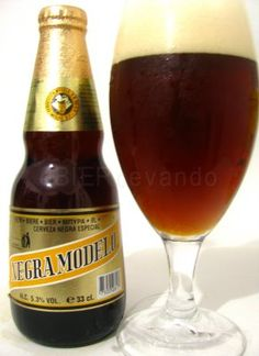 Negra Modelo; this is the first beer I enjoyed drinking, smooth & full, great beer...