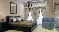 With the increase in competition in the interior design marketing, people are now giving their houses the attention that they have never given before. With a large selection of Custom drapes and desig