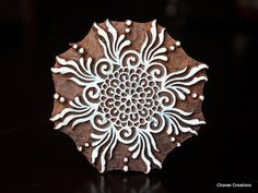 Wood Block Stamp Tjaps Indian Wood Stamp by charancreations, $29.50