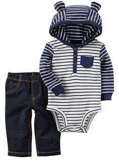 Amazon Carter's Stripe Set