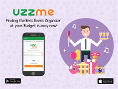 Are you looking for the best Event organizer at your budget? Uzzme App is the best place to choose the event organizers that suits your budget. Download and book your desired service that can meet your expectations. #Hyderabad #EventOrganizers #InstallNow #UzzMeApp