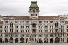 Piazza Dell'Unita. Trieste, Italy.