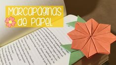 Cómo hacer un marcapáginas de papel para un libro (Separador de libros) | Origami | Mira cómo hacer estos lindos marcápaginas de papel para que ya no pierdas la hoja en la que te quedaste ;)