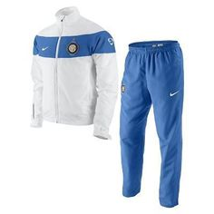 NIKE INTER MILAN WOVEN STATEMENT WARM UP SUIT X-LARGE.