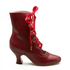 Tango Boots- Victorian era lace up Boots