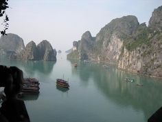 Halong Bay, Vietnam Went to the China side in April....breathtaking