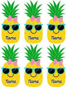 Pineapple Welcome Board (editable) - Modern
