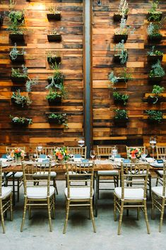 Brooklyn Winery reception - photo by M2 Photography http://ruffledblog.com/dinner-party-wedding-at-brooklyn-winery