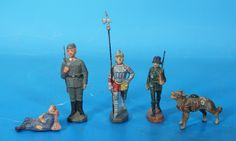 ELASTOLIN LINEOL Konvolut Massefiguren um 1930 Masse 3085 | eBay