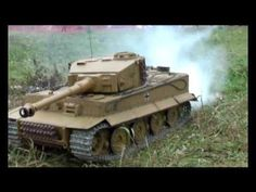 1:6 scale remote control war games with rc tanks and a targeted air strike.  Dedicated hobbyists at work! #rcwar