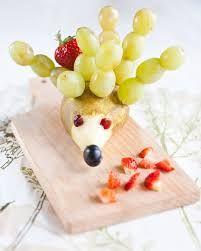 Výsledek obrázku pro zvířátka z ovoce