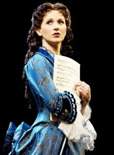 Photo of Sara Jean Ford as Christine Daae in The Phantom of the Opera. Phantom Of The Opera, Opera Show, Broadway Costumes, Love Never Dies, Les Miserables, Show Photos, Musical Theatre, Ford, Make Up