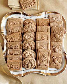 .Dutch Speculaas Cookies.