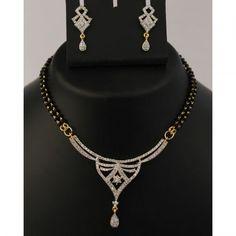 Regal Mangalsutra Necklace Set