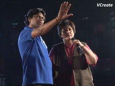 Falguni Pathak's final rehersal for navratri 2012.