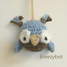Ravelry: Owl Ornament Amigurumi pattern by Brieshon D'Agostini