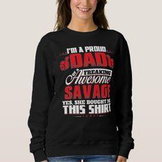 Proud To Be SAVAGE T-Shirt - Xmas ChristmasEve Christmas Eve Christmas merry xmas family kids gifts holidays Santa