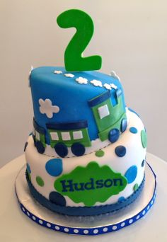 CakesbyKirsten Monster Truck Rally Cake Chocolate Filled With Vanilla Buttercream