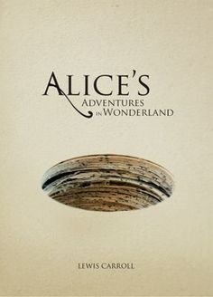 STEPHANIE This is a completely different take on the popular children's story/movie. The hole on the cover adds depth and draws in our attention into the world of Alice's Adventures Wonderland in a literal sense that the hole is created by a stack of paper: