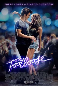 Hollywood Movie Costumes and Props: Kenny Wormald and Julianne Hough Footloose remake costumes on display. Footloose Remake, Julianne Hough Footloose, Footloose 2011, Kenny Wormald, Girly Movies, Entertainment, Poster, Vintage Movies