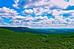 Beautiful Hills of Pennsylvania from Hawk Mt  #landscape #beautiful #hills #pennsylvania #hawk #photography