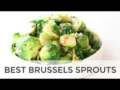 I used to think that roasting was my favorite way to cook Brussel sprouts but these simply steamed brussel sprouts have pulled up from the rear and taken the lead. You might think they are leading bec Best Brussel Sprout Recipe, Cooking Brussel Sprouts, Brussels Sprouts, Healthy Sides, Healthy Side Dishes, Vegetable Side Dishes, Easy Healthy Recipes, Easy Meals, Recipes