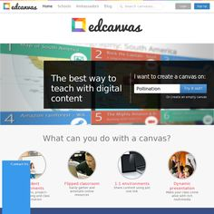 "Edcanvas - EdCanvas is a web service which allows you to search, find, clip and collect any kind of content, from text to video clips and to organize it into visual boards for educational and learning purposes.   Differently than Pinterest, EdCanvas is specifically targeted at the education world and at schools and teachers, and it makes possible not just to collect ""images"" from web pages, but to collect and organize whichever content elements you want, including full web pages."
