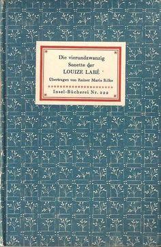 Rilke. Traduction de Vingt-quatre sonnets de     Louise Labé.