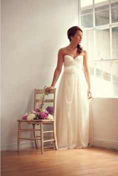 Sarah Seven Wedding Gown  @deb rouse schwedhelm rouse schwedhelm Peterson ooo pretty style