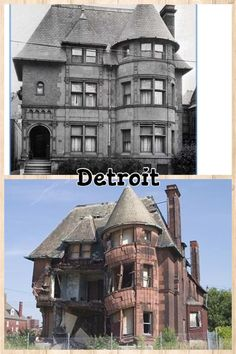 Detroit's corrupt former administrations (namely Coleman Young and Kwame Kilpatrick) allowed this to happen as they padded their pockets, paying no attention to the needs of the city. We have heard so many stories of people wanting to buy and restore homes while still salvageable, but the city prevented them from purchase. Instead, they allowed this sickening disgrace to happen across the city. The current mayor, Mayor Duggan is doing a remarkable job but sadly homes like these are lost…